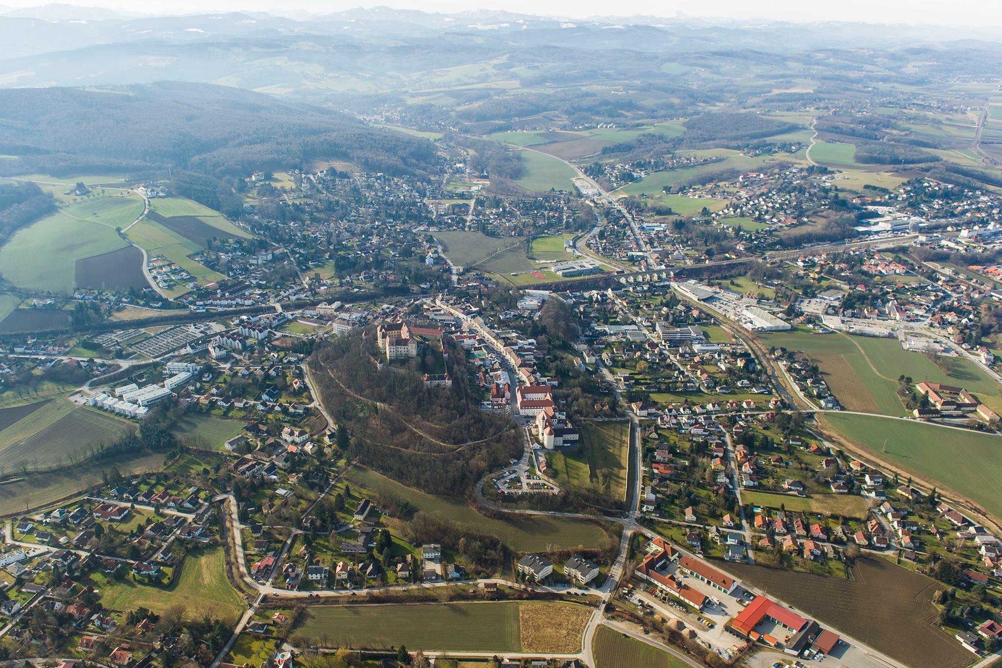 Neulengbach_von_oben